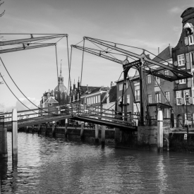 De ophaalbrug van Dordrecht