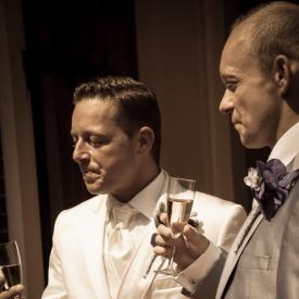 Champagne momentje